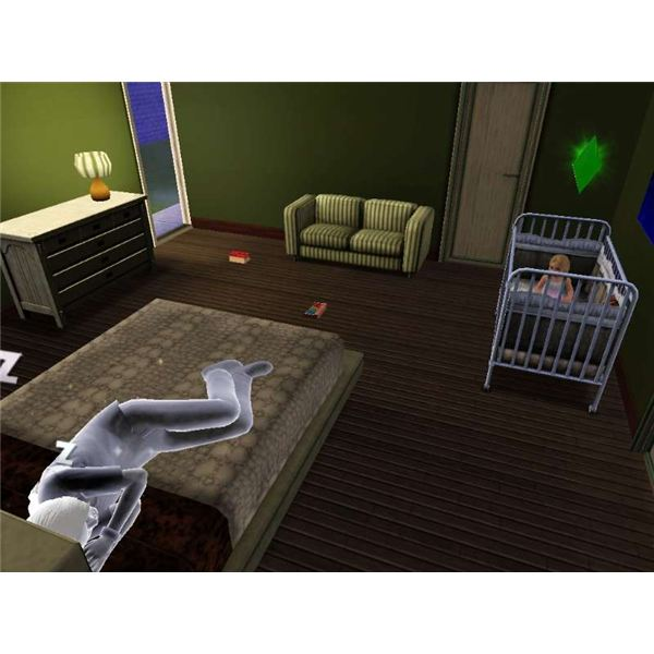 Sims 3 Death and Ghosts Guide Sleeping White Ghost