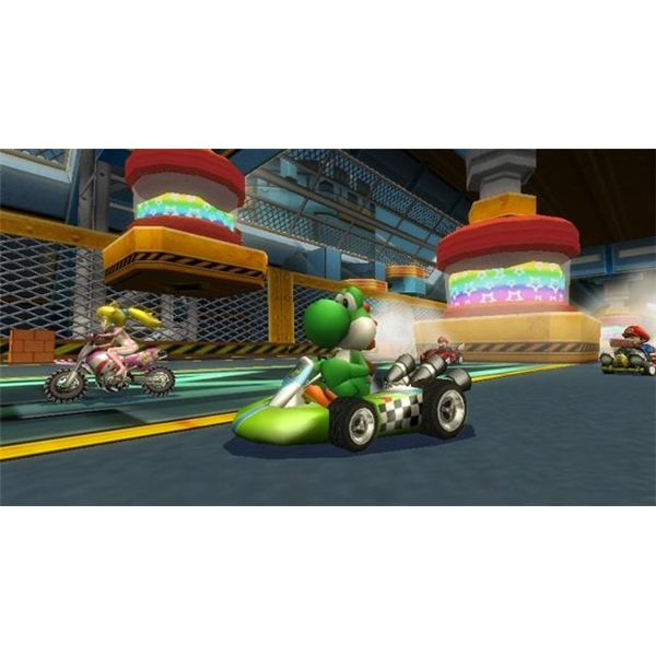 Mario Kart Wii looks great, but it certainly doesn't sound great.