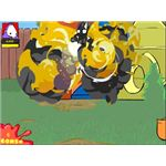 Dad n Me Game Explosion Screenshot - free online games