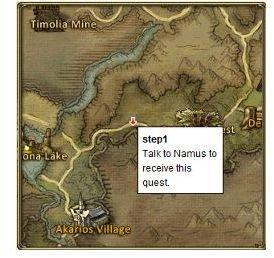 Namus Location