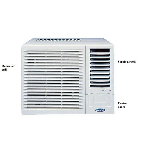 Types of air conditioning systems window split packaged for What is the best type of heating system for homes