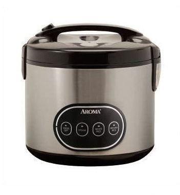 8-cup Digital Rice Cooker & Food Steamer