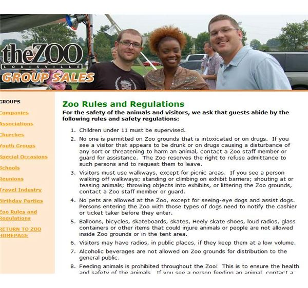 louisville zoo safety