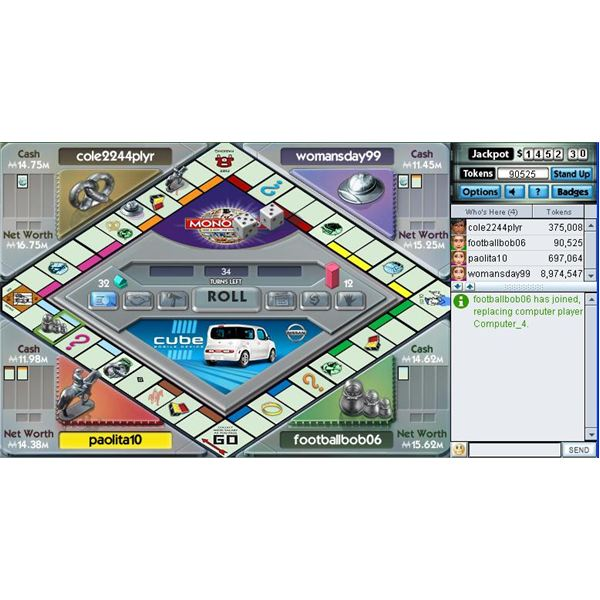 Monopoly is one of the best games at pogo.com