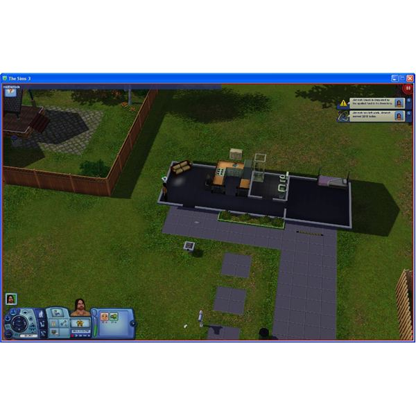 Cheat Console in The Sims 3