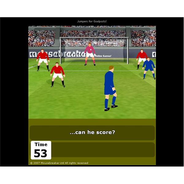 Jumpers for Goalposts 5 - Unblocked Games 66 - Fun ...