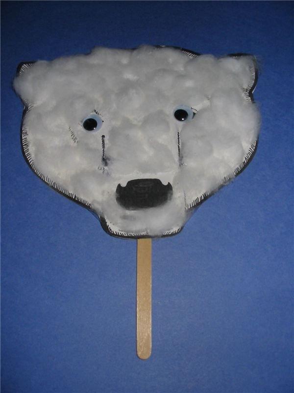 Polar Bear Crafts: Puppet