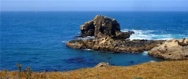 Sea Blue Waterscape