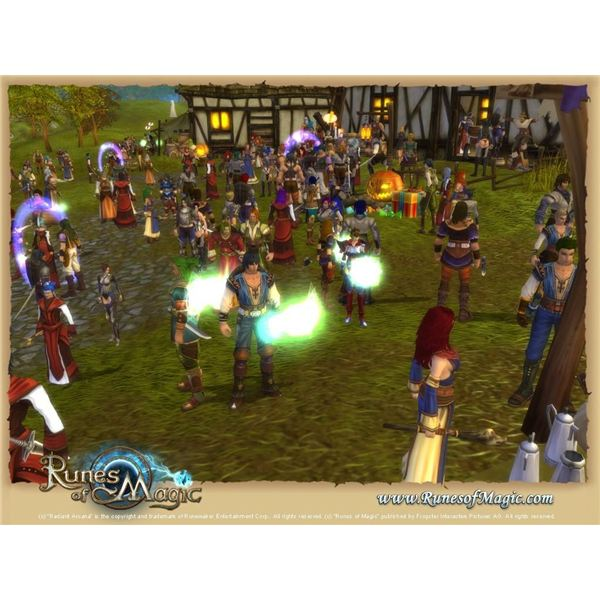 Runes of Magic - Free to Play MMORPG Review