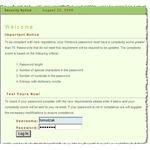 Figure 7: Password entry