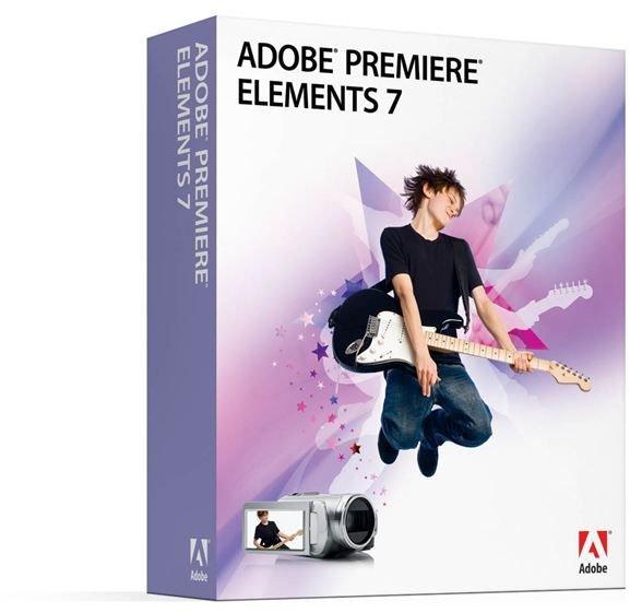Adobe Premiere Elements 7 Box Shot