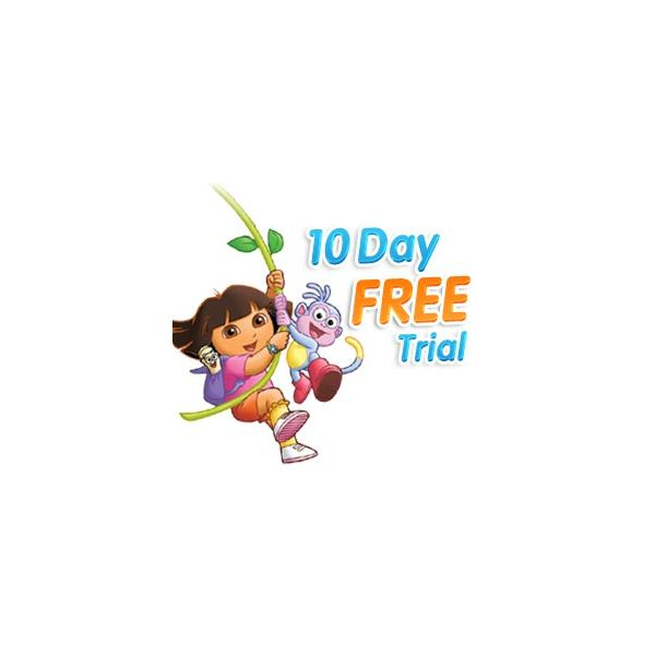 Dora the Explorer Interactive Games: Premium Logo
