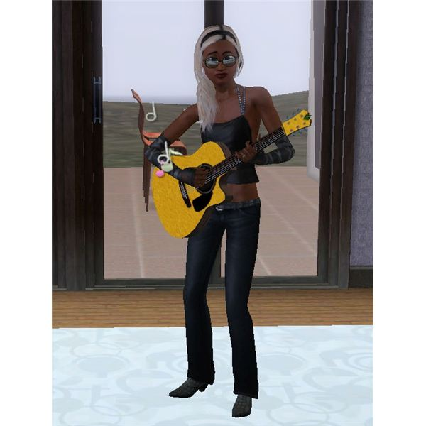 The Sims 3 Celebrity Lola Belle