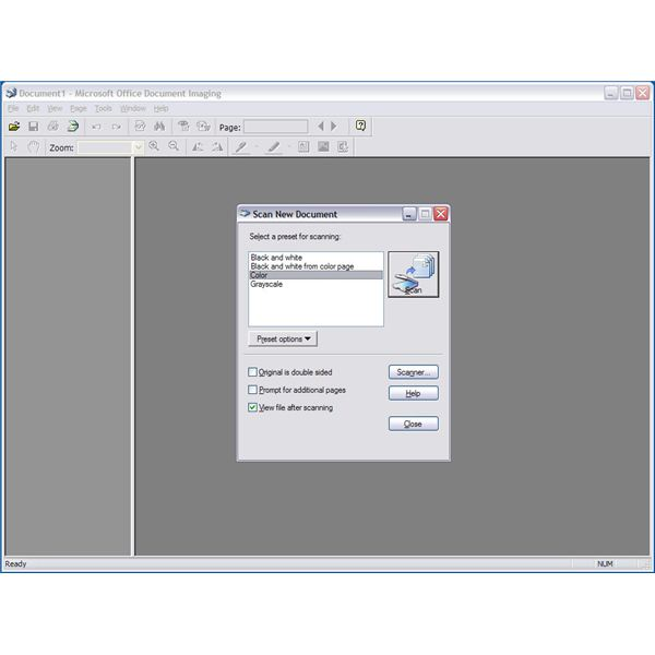 Microsoft Office Document Imaging OCR Text Guide - How to Edit OCR in Office
