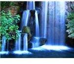blue-waterfall