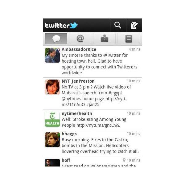 Top Android Applications - Twitter for Android