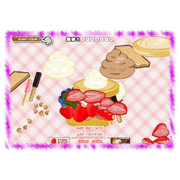 Strawberry Shortcake Cooking Dressup