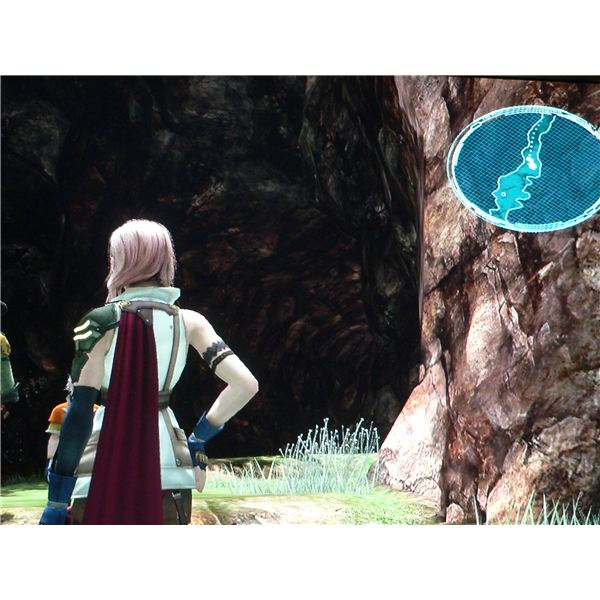 Final Fantasy XIII: Entrance to Dusktide Grotto.