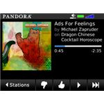 Pandora - Best free blackberry music apps