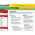 Kids Sunday School Website