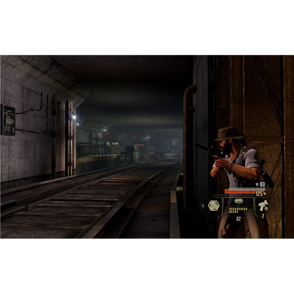 Alpha Protocol Walkthrough - Taipei Subway - Catching the Informant and Beating the Train