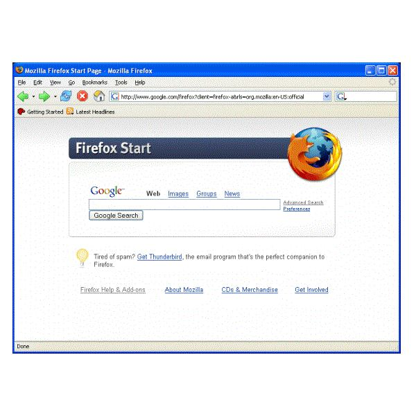 Fig 3 Best Web Browsers - Firefox 3.6