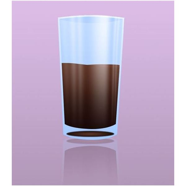 Clear Drinking Glass in Photoshop