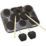 Pyle-Pro - Electronic Table Digital Drum Kit Top with 7 Pad Digital Drum Kit