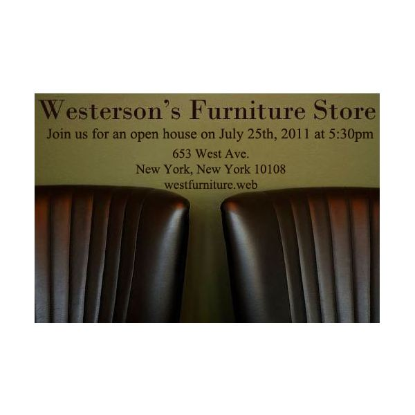 Furniture Store Open House
