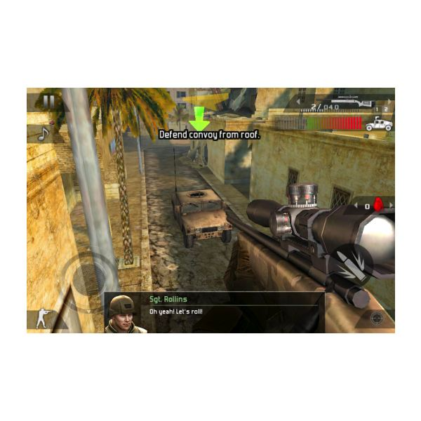 Modern Combat 2 Defend Convoy Mission