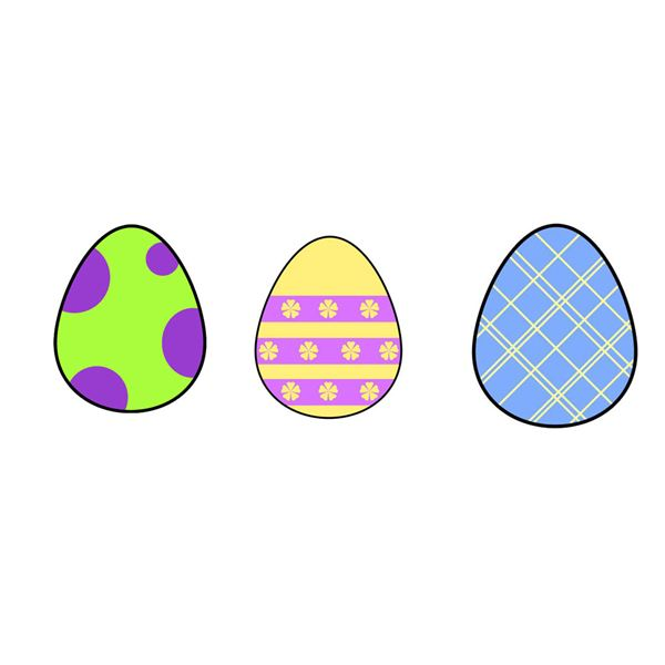 easter egg template