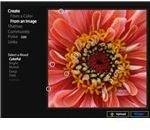 Kuler Photo Interface