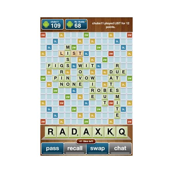 DroidWords: Scrabble for Android