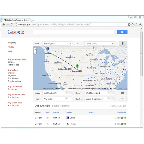Using Google Flights to Find the Cheapest Airfare and Best Flights