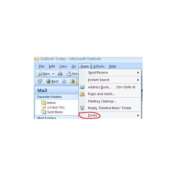How to make and use a microsoft outlook template for email for Outlook 2007 template shortcut