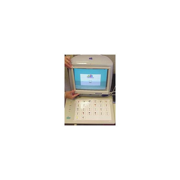 Computer with Touch Screen and Adapted Keyboard