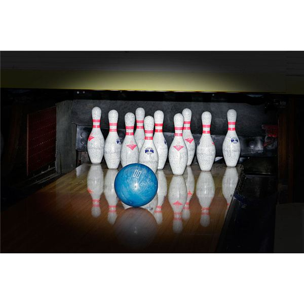 Bowling Pins and Ball Wikimedia Commons