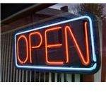 Neon Open Sign by Aaron Pruzaniec Wikimedia Commons