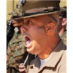 Drill sergeant screams (Image Credit: Wikimedia Commons)