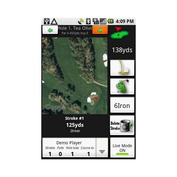 DroidCaddie-Android Golf App-pic