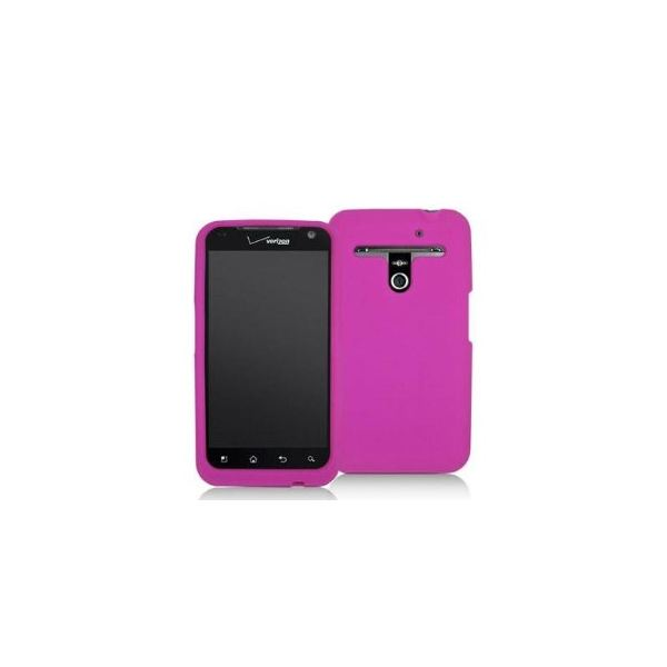 Hot Pink Silicone Rubber Gel Soft Skin Case Cover