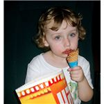 Eating junk food may contribute to a child's weight problem.