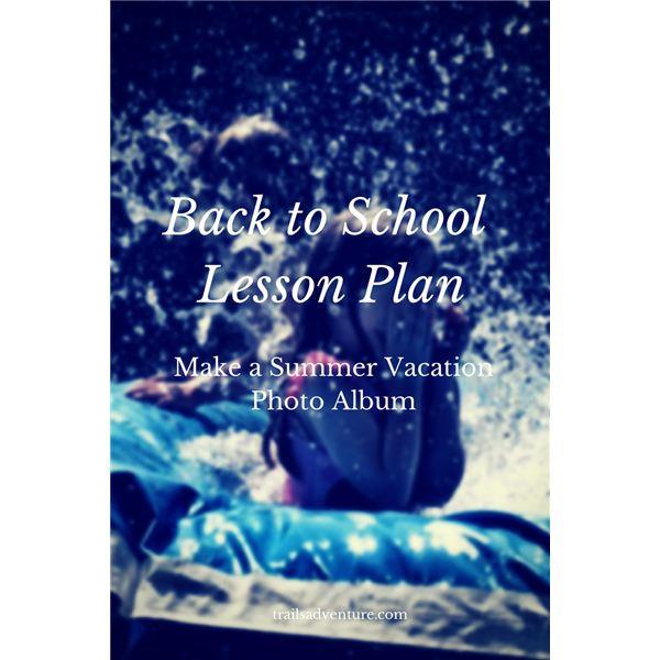Back To School Lesson Plan Idea