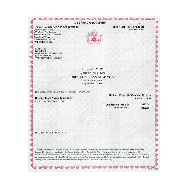 Obtaining Business Licenses: What is Required and Where to Get Them