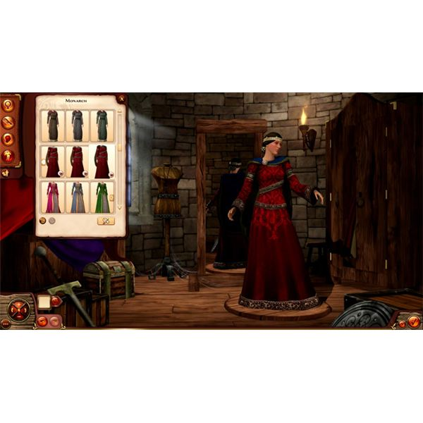 The Sims Medieval Limited Edition Monarch Female