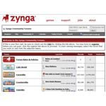 Zynga Forum Screenshot 1