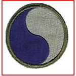 29th Infantry Division Patch