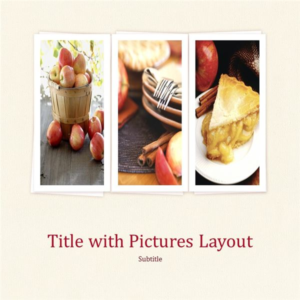 PowerPoint Cookbook Template