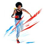 A flashy image from Mirror's Edge