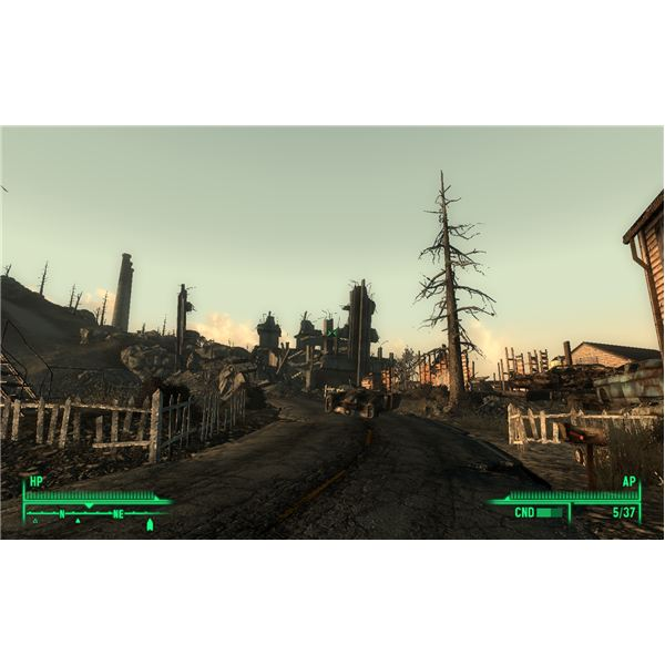 Fallout 3 - This Spot in Minefield is Home to Arkansas' Sniper Perch
